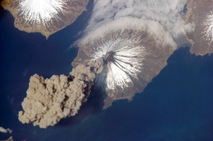 Activity at Cleveland Volcano, Aleutian Islands, Alaska : Natural... earthobservatory.nasa.gov Search by image Activity at Cleveland Volcano, Aleutian Islands, Alaska