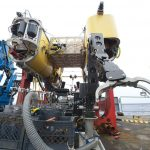 During its short career in ocean exploration, Nereus provided unmatched capabilities for exploring and sampling the hadal zone in a systematic way. (Photo by Ken Kostel, Woods Hole Oceanographic Institution)