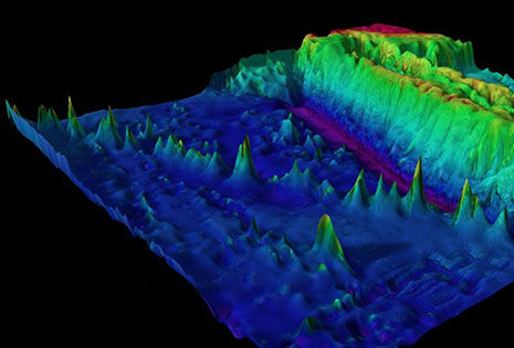Mapping with multibeam.