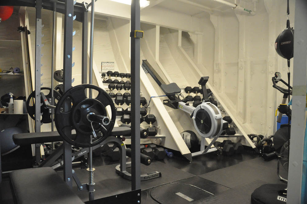 The weight room: something for everyone