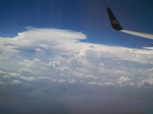 View from Icelandair.