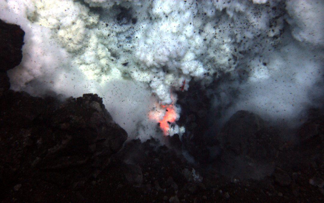 Marine Scientists Discover Deepest Undersea Erupting Volcano