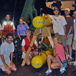 The research team for the 2003 Puerto Rico expedition aboard the R/V Chapman.