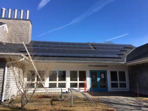 Fye Solar entrance roof
