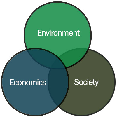 Sustainability: Where the Environment, Economics and Society meet