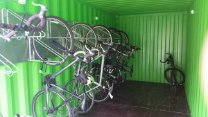 inside container full