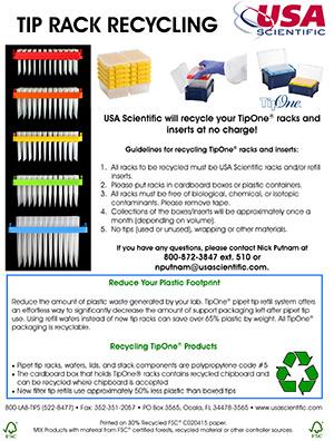 Tip Rack recycling