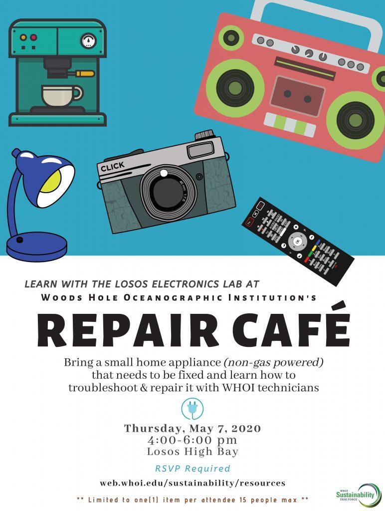 WHOI Repair Cafe May 2020